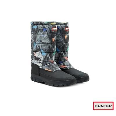 HUNTER - 男鞋-長筒雪靴 - 黑