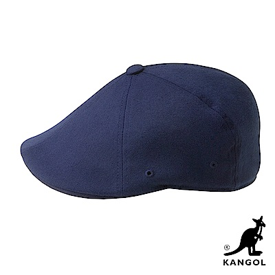 KANGOL鴨舌帽-深藍色