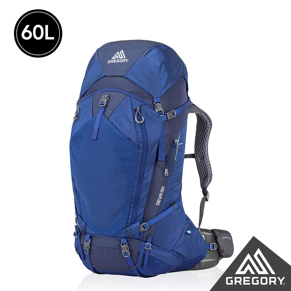 Gregory 女 60L DEVA登山背包 夜景藍 S