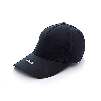 FILA 時尚 LOGO 帽-黑 HTT-1003-BK