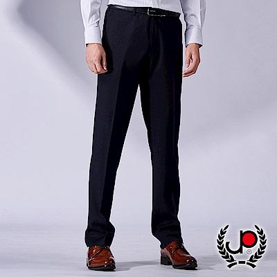 極品西服 質男簡約彈力直條平面西褲_條紋黑(BW773-1)