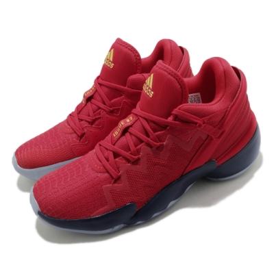 adidas 籃球鞋 DON Issue 2 GCA 男鞋 愛迪達 Marvel 漫威 NBA球星 紅 藍 FZ1448