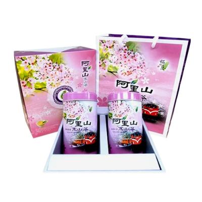 【新造茗茶】阿里山特級高山茶茶葉禮盒(150g*2罐)