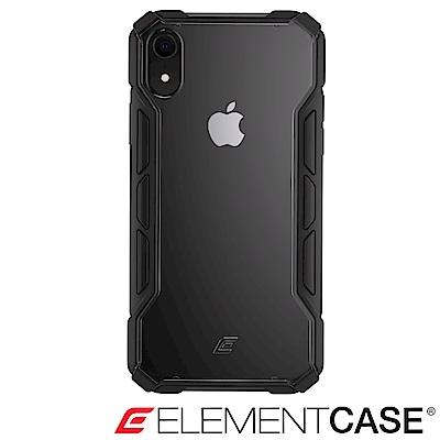 美國 ELEMENT CASE iPhone XR 專用拉力競賽防摔殼 -黑