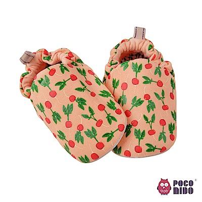 英國 POCONIDO 純手工柔軟嬰兒鞋 (櫻桃蘿蔔)