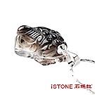 石頭記 貔貅項鍊-晶光閃閃-茶水晶