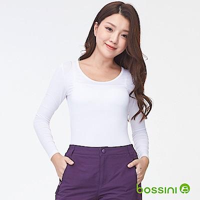 bossini女裝-遠紅外線發熱衣02白