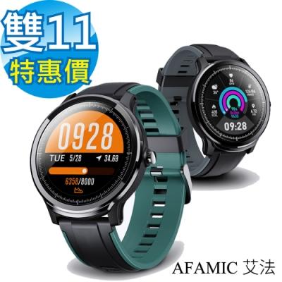 【AFAMIC 艾法】C80 高階3D動態智能心率手環(心率偵測 訊息提示 運動數據)
