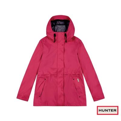 HUNTER - 女裝-輕量橡膠外套 - 亮粉紅