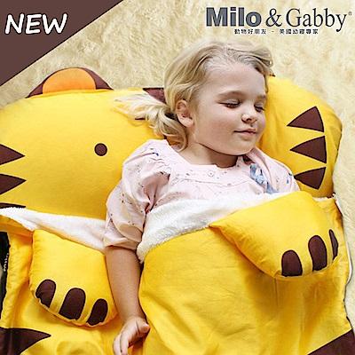 Milo&Gabby 動物好朋友-三合一超柔軟四季睡袋 (TOM小虎)