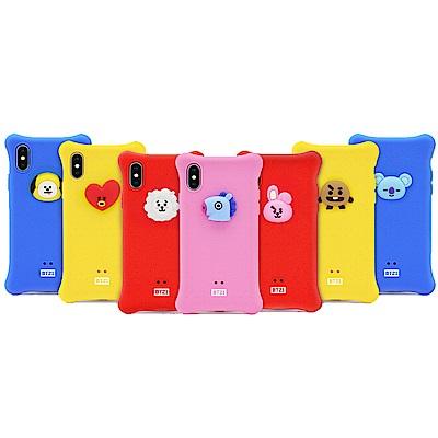 GARMMA 宇宙明星BT21 iPhone Xs Max 四角氣囊果凍套