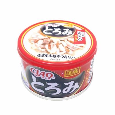 日本 CIAO 多樂米濃湯罐 A-43 雞肉&鮪魚&蟹肉棒 80g