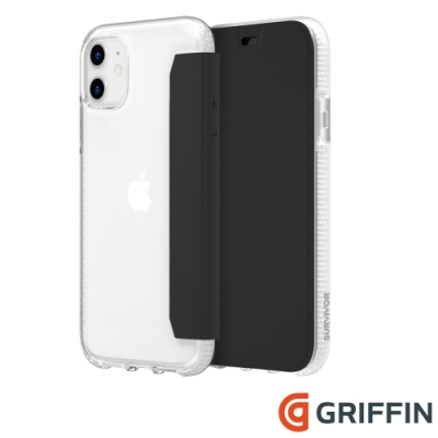 Griffin Clear Wallet iPhone 11 側翻保護套
