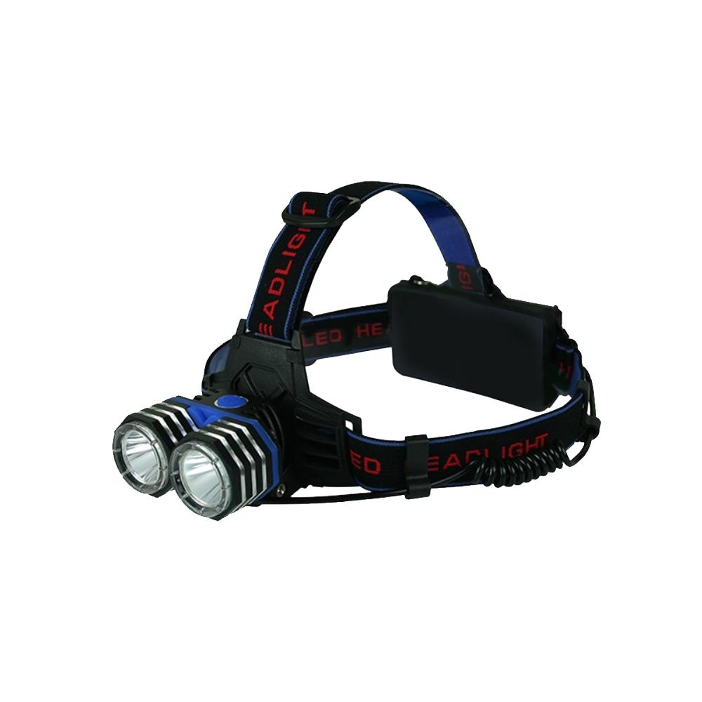 KINYO 探索王LED雙T6強光頭燈(LED-730)1500流明