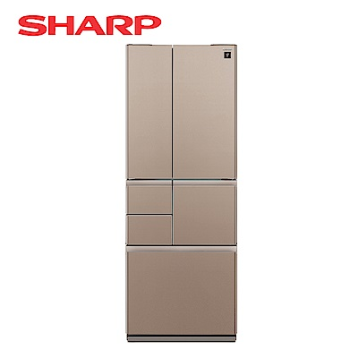 SHARP夏普 501L 4級變頻6門電冰箱 SJ-GT50BT-T 星鑽棕