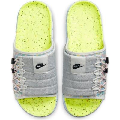 Nike ASUNA CRATER SLIDE 男休閒拖鞋-灰彩-DJ4629001