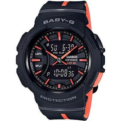 BABY-G BGA-240慢跑運動活力動感雙顯錶-黑(BGA-240L-1A)/29mm