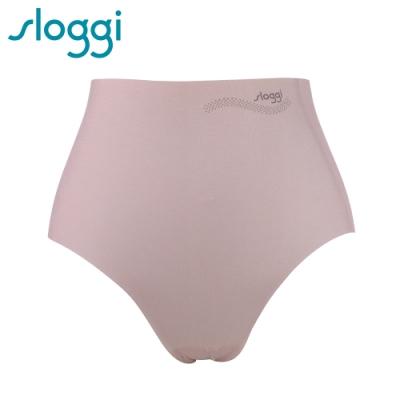 sloggi Zero Feel Cotton 零感系列混棉款高腰褲 玫瑰粉