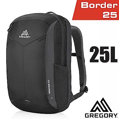 美國 GREGORY 新款 Border 25 專業輕量電腦後背包_像素黑