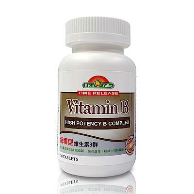 美國培恩維生素B群緩釋錠(90粒/瓶)2入裝