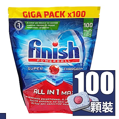 FINISH 洗碗機全效洗碗錠 100顆(袋裝)