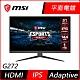 MSI微星Optix G272 27型 IPS無邊框電競螢幕 144Hz 1ms極速 支援HDMI Adaptive Sync product thumbnail 1