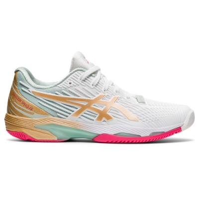 ASICS 亞瑟士 SOLUTION SPEED FF 2 L.E. 女 網球鞋  1042A142-100