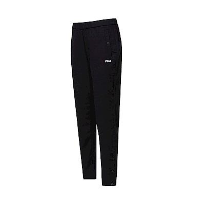 FILA 女款平織長褲-黑色 5PNT-1461-BK