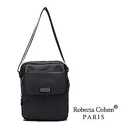 Roberta Colum - 型男嚴選防潑水側背斜背方包-共2色