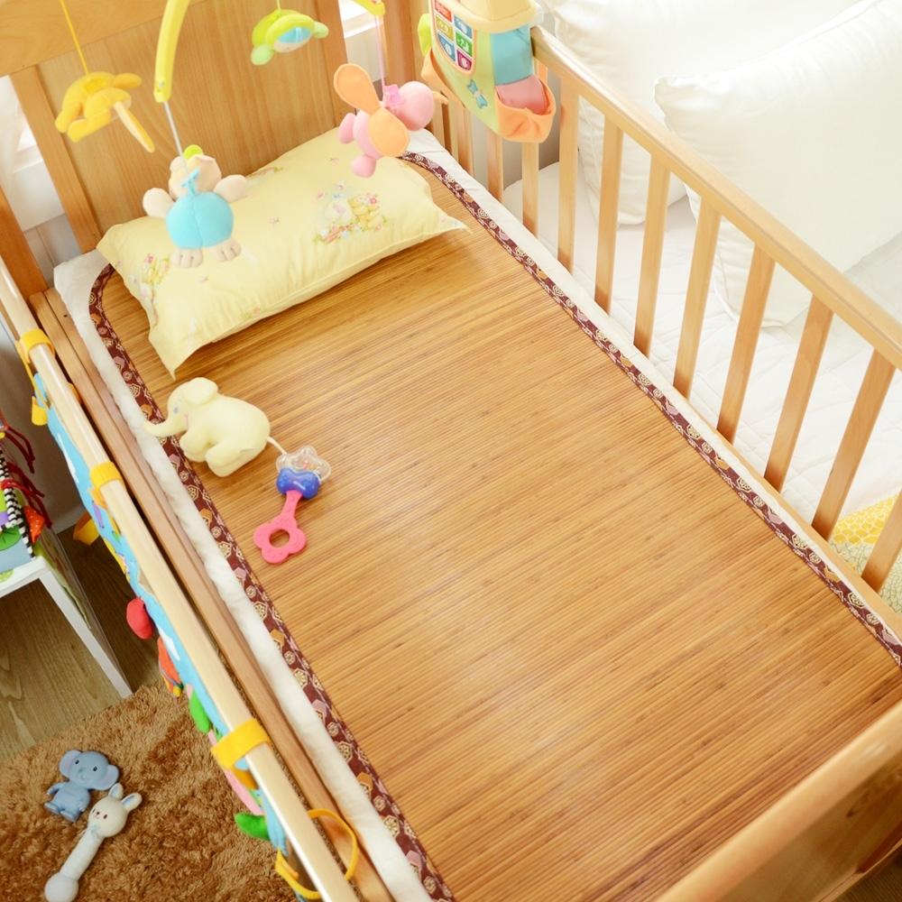 和風炭化竹涼蓆童蓆/嬰兒涼蓆(57×117cm)