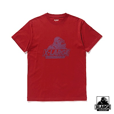 XLARGE S/S TEE NUMBER OLD O 短袖T恤-酒紅