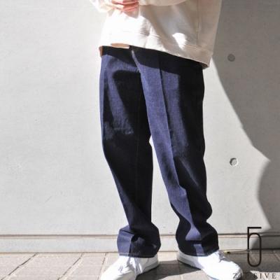 ZIP日本男裝 Nilway先染色丹寧牛仔長褲 (4色)