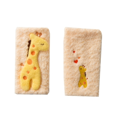 【妖精之森】純棉揹袋口水巾口水墊-長頸鹿