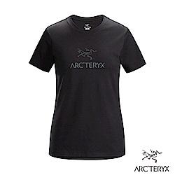 Arcteryx 始祖鳥 24系列 女 ArcWord 有機棉 短袖休閒Tee 黑
