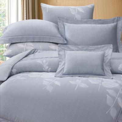 岱思夢  加大  60支八件式天絲床罩組  貝妮卡-灰