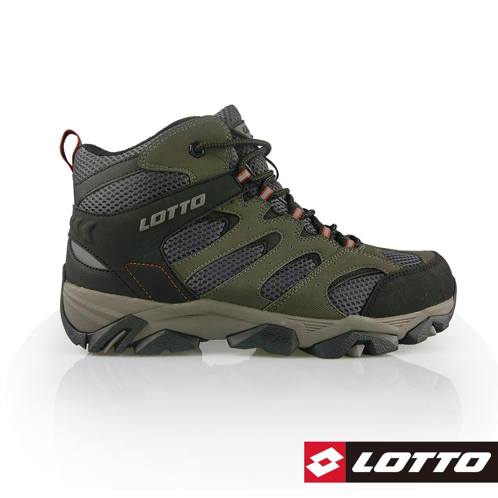 LOTTO 義大利 男 Sabre Mid 2 戶外登山鞋 (灰綠)
