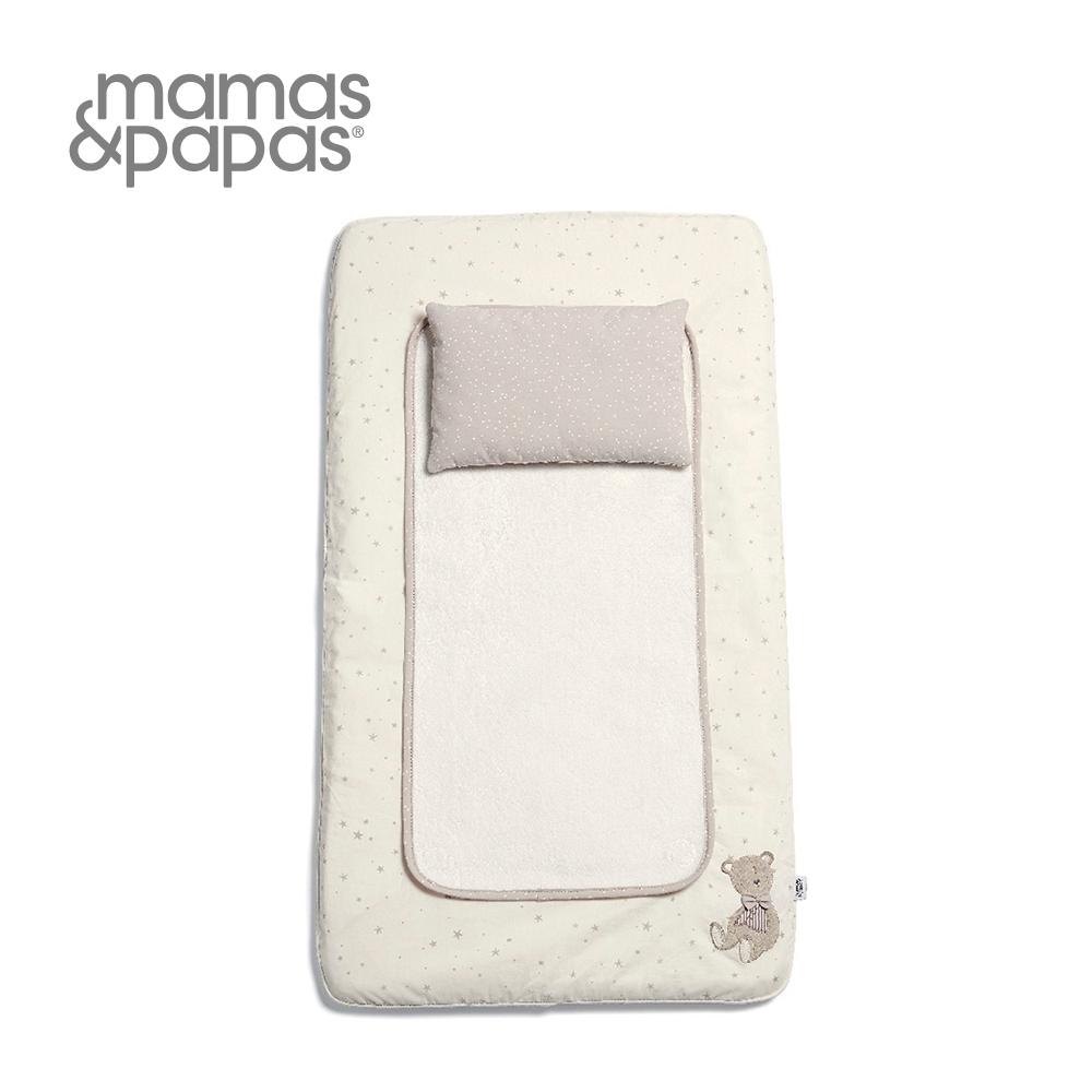 Mamas&Papas 尿布墊 米莉與波里斯-夢迴海馬白