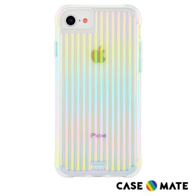 美國 Case●Mate iPhone SE (第二代) Groove 強悍防摔手機保護殼 - 彩虹波浪