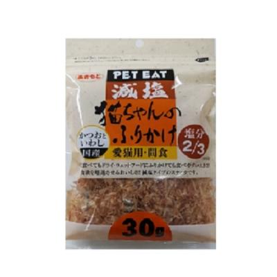 PET EAT元氣王 減鹽鰹魚薄片+小魚乾 30g