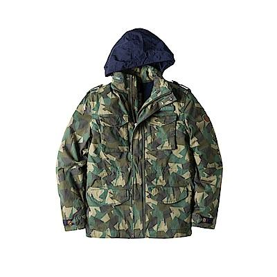 Timberland 男款戶外休閒M65夾克|A1LW7J05