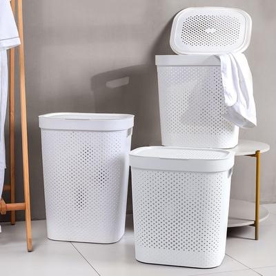 Mr.box 大容量洗衣籃髒衣籃-附蓋(大款)