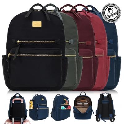 1/2Princess珍珠金沙X尼龍防潑水大容量多拉鍊設計款背包[A2784]