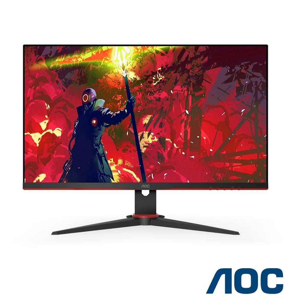 AOC 27G2E 27型 IPS廣視角窄邊框電競螢幕HDR 144Hz 1ms