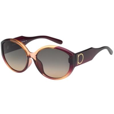 Salvatore Ferragamo 太陽眼鏡 (咖啡配紫色)