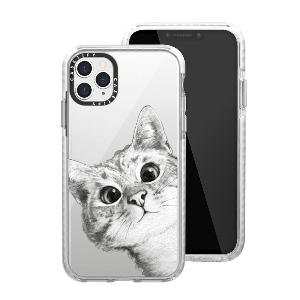 Casetify iPhone 11 Pro Max 耐衝擊保護殼-躲貓貓