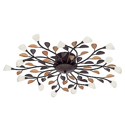 EGLO歐風燈飾 花漾造型玻璃吸頂燈