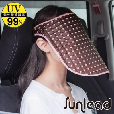 Sunlead 加長版防曬抗黑抗UV輕量護臉面罩