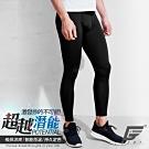 GIAT台灣製排汗防曬運動機能褲(男款)-經典黑