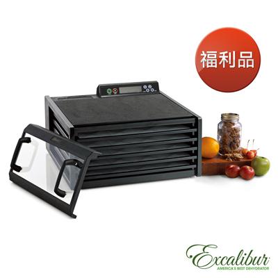福利品 Excalibur伊卡莉柏低溫乾果機五層/數位式/塑膠(黑)3548CDB