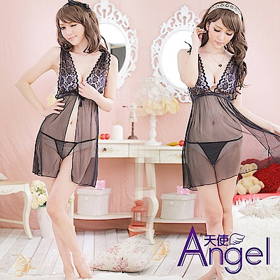 Angel天使 情趣睡衣露背薄紗內衣 BP057
